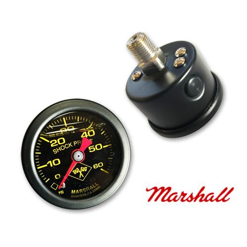MARSHALL/60PSI オイルプレッシャーゲージ
