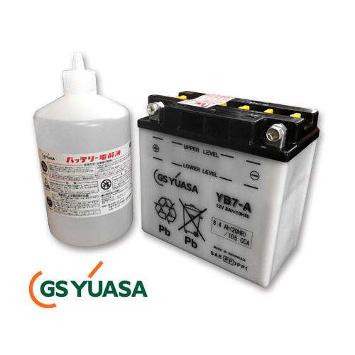GS YUASA 1970年以降XLCH/FXキックオンリー用バッテリー