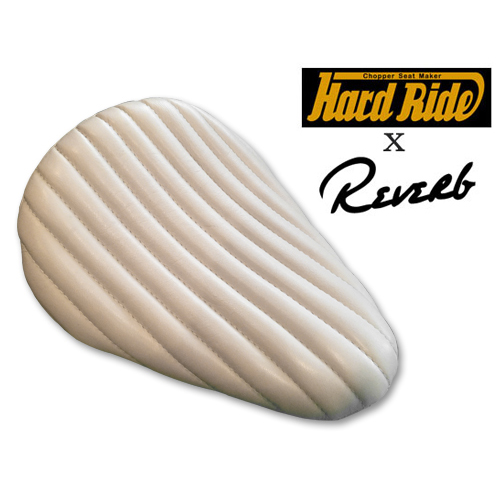 HARD RIDE x Reverb ナロービンテージレプリカシート 限定ホワイト