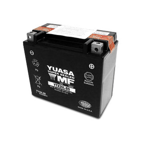 YUASA USA メンテナンスフリー(MF) バッテリー