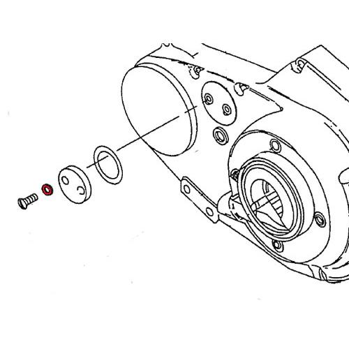 1991年以降XL用 インスペクションボルト用Oリング