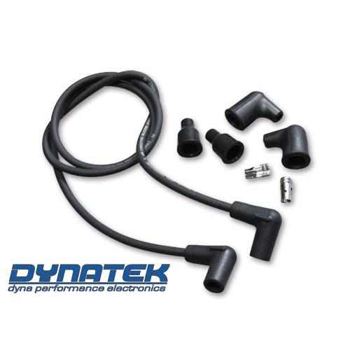 DYNATEK 7mm ブラックプラグコード
