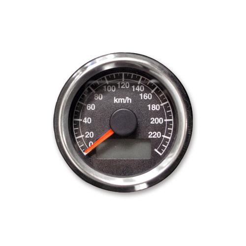 48mm アジャスタブルスピードメーター1995年以降電気式メーター用 黒