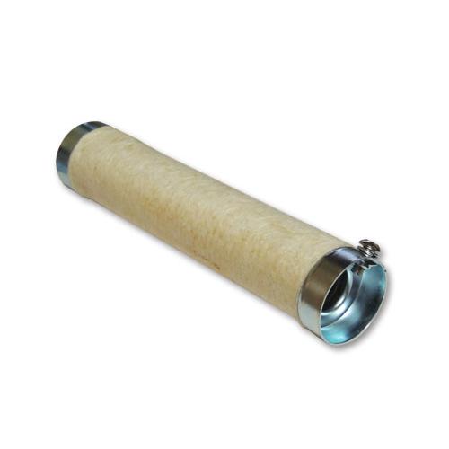 グラスウール付きバッフル 外径41mm/長さ8インチ