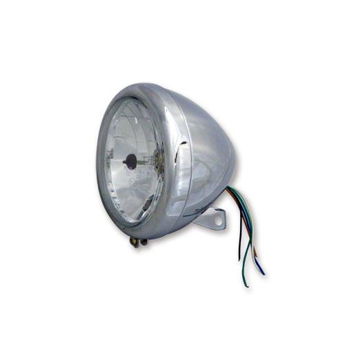 5.75インチヘッドライト スプリンガー用クリアレンズ