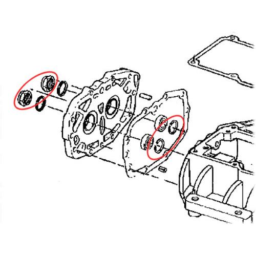 1980-93年5速BT用トラップドア スモールパーツ