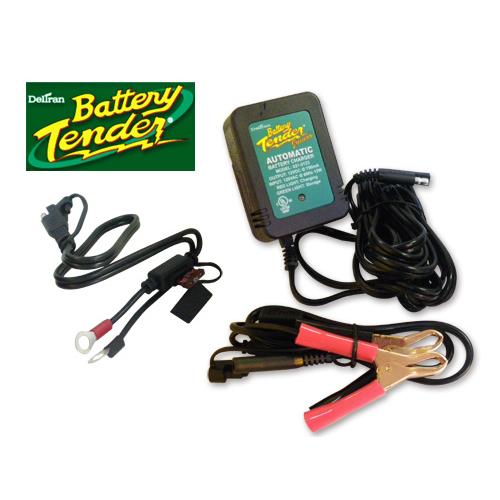 BATTERY TEMDER トリクル機能付きバッテリー充電器