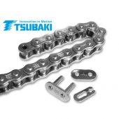 TSUBAKI ニッケルメッキ 120リンク ドライブチェーン