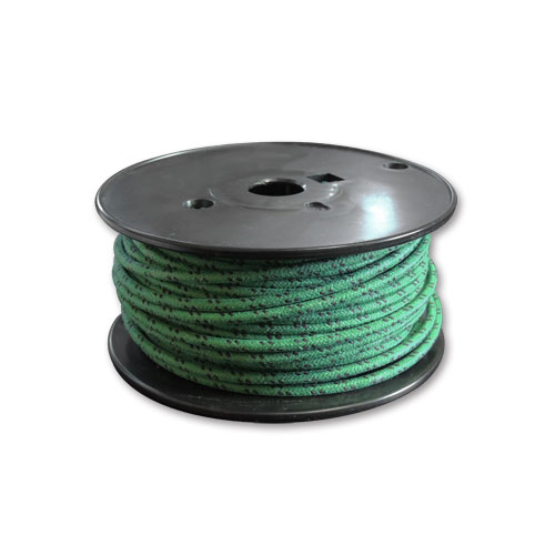 布巻きワイヤー 緑x黒